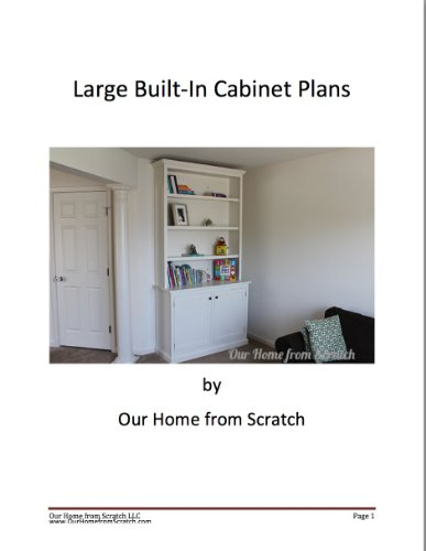 Large Built-In Cabinet Plans