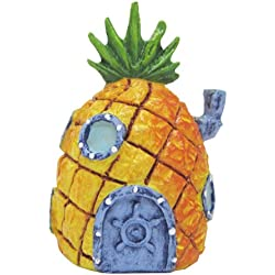 Penn Plax Spongebob Squarepants Mini Pineapple House Aquatic Ornaments