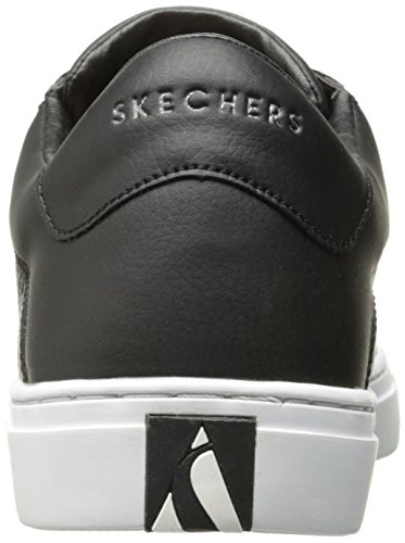 Baskets Noir Street Black Skechers Femme Side 0pxAwqBnF