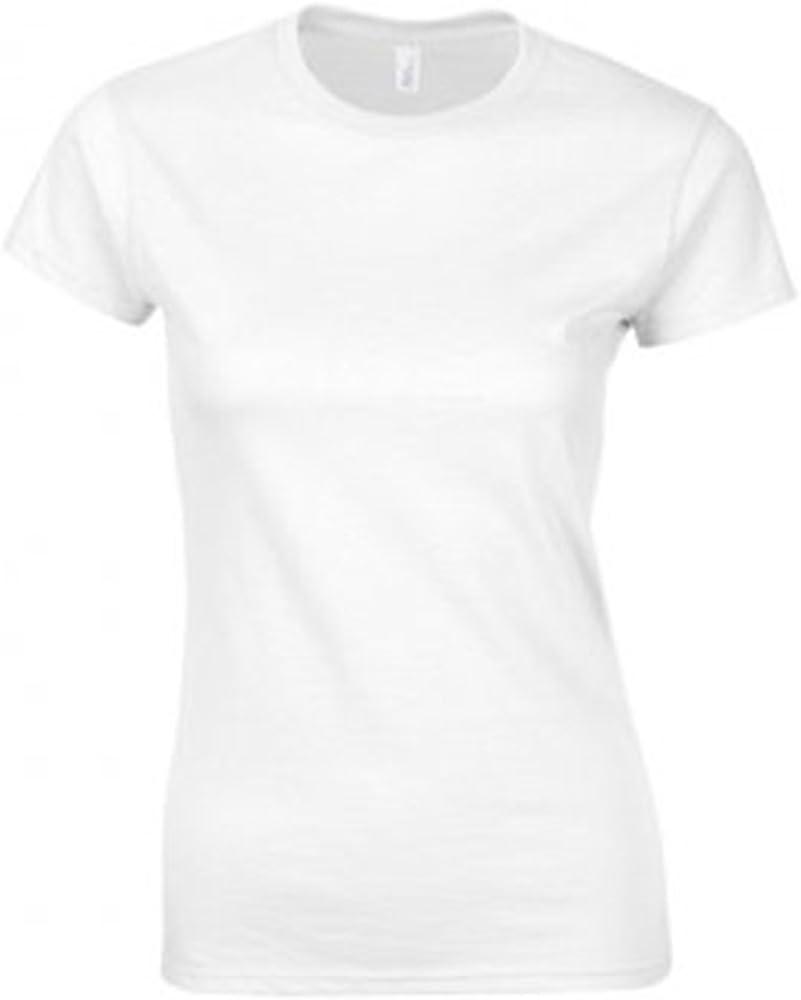 SoftStyle Gildan t-shirt da donna aderente in cotone pettinato