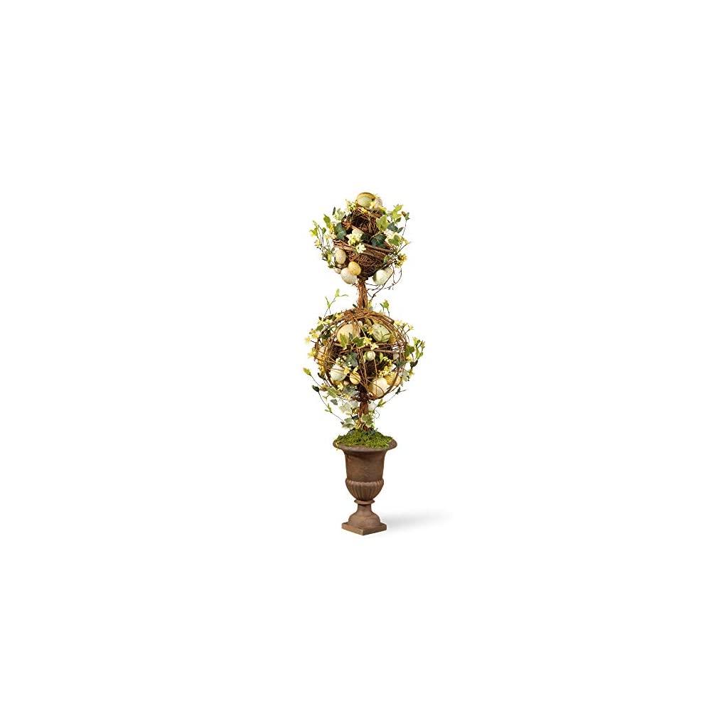 CC-Christmas-Decor-33-Potted-Two-Ball-Easter-Topiary