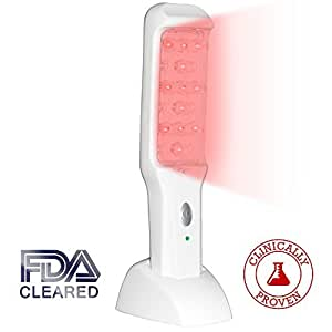 NutraStim Professional Hair Growth Laser Comb – Advanced FDA Cleared Hair Loss Treatment For Women & Men With Thinning Hair – Superior Regrowth Therapy Combs To Grow Thicker & Fuller Hair
