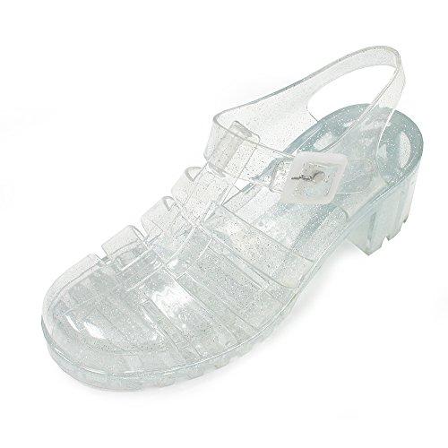 retro jelly heels - 3