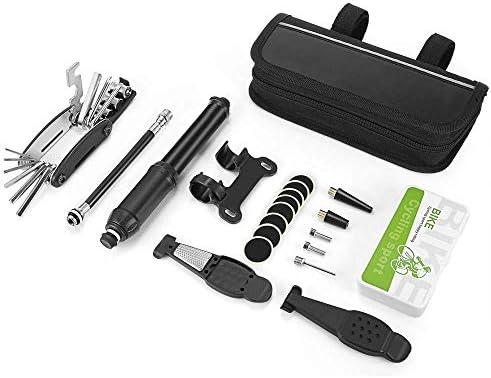 LEENY Kit de Reparación y Mantenimiento de Bicicleta con Mini ...