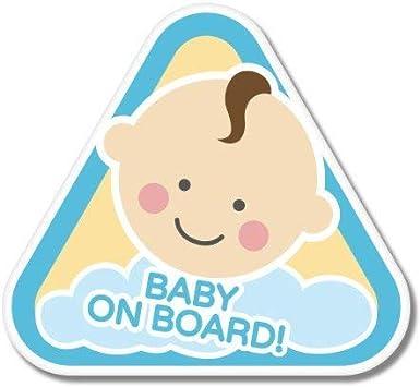 Baby On Board Sticker Decal Car Vinyl Sign Window Cute