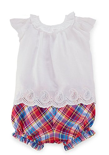- Ralph Lauren Newborn's 2PC Casual Top White 9M