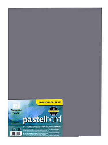 Ampersand Pastelbord 12 in. x 16 in. gray each [PACK OF 2 ] by Ampersand