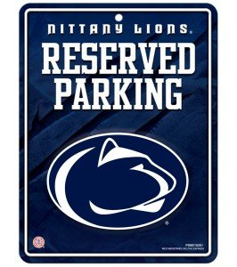 NCAA Penn State Nittany Lions Hi-Res Metal Parking - Outlet Malls Pennsylvania