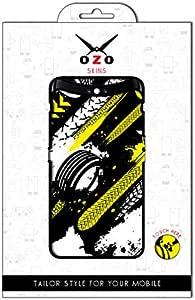 لاصقة حماية من اوزو شكل عجلات السباق لموبايل Huawei Y8s