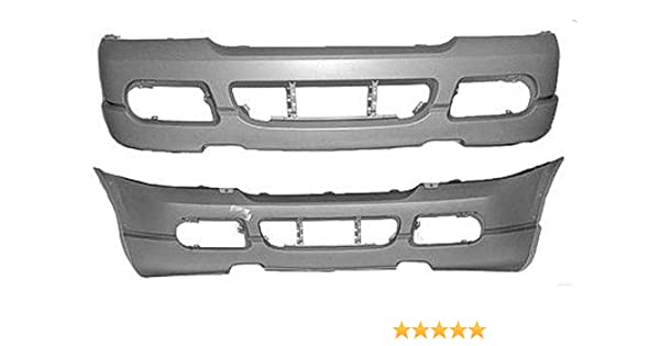 NEW FRONT BUMPER COVER PRIMED FITS 2004-2005 FORD EXPLORER FO1000496