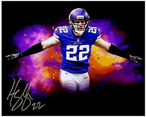 Harrison Smith Autographed Signed Custom Black Arms Out 8x10 METALLIC PAPER Photo - Certified Authentic from Sports Collectibles Online
