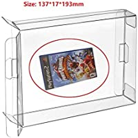 WiCareYo Box Protector for PS2,10Pcs Clear Box Case Sleeve CIB Cartridge Protector for PS2 NGC WII Xbox Xbox 360 Games…