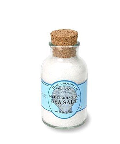 Olde Thompson 20-Ounce Mediterranean Sea Salt Crystals - Pack of 2