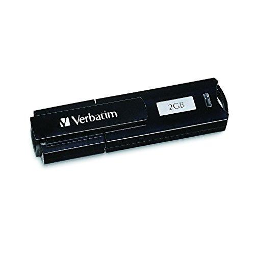 (Verbatim Store 'n' Go Corporate Secure 2 GB USB 2.0 Flash Drive 95400 (Black))