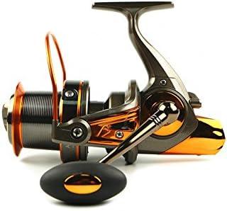 قرقره ماهیگیری Apusale چرخش سبک وزن فوق العاده صاف قدرت چرخش ماهیگیری نمکی آب شیرین - 12 + 1 BB ضد زنگ (reelAT8000)
