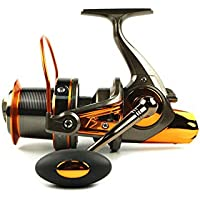 Big metal Spool Spinning Fishing Reels With 13+1BB 4.6:1...