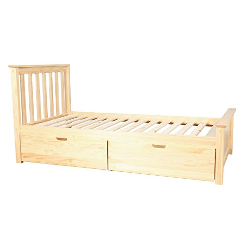 Pine Twin Size Bed - 3