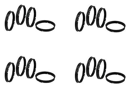 Gorilla Automotive  72-6006 Wheel Hub Centric Rings (72.62mm OD x 60.06mm ID) (4)