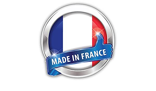 France Flag Glossy Car Bumper Sticker Decal 5/'/' x 5/'/'