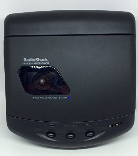 Great Deal! RadioShack 2 Way VHS Video Cassette Rewinder