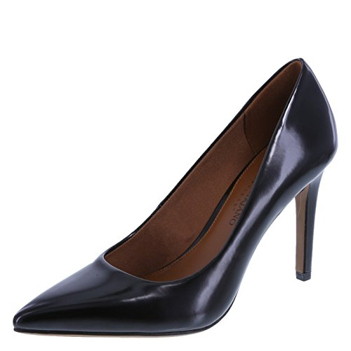 Christian Siriano For Payless Womens Smooth Black Womens Habit Pointed Pump 8 Regular