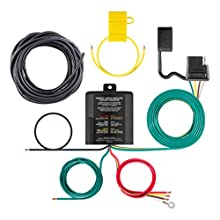 CURT 59236 Weather-Resistant Multi-Function Splice-in Trailer Tail Light Converter Kit with 4-Pin Wiring Harness