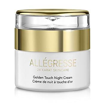 ALLEGRESSE 24K Gold Golden Touch Night Cream – 1.7 Ounce