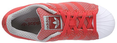 adidas Superstar Weave, Unisex Adults' Trainers Red (Tomato F15-st/Tomato F15-st/Ftwr White)
