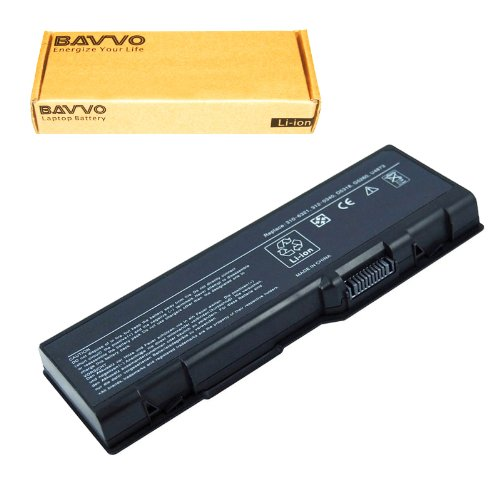 Bavvo 9-Cell Battery Compatible with Dell Inspiron 6000 9200 9300 E1705 E1505n PN:D5318 U4873 C5974 F5635 G5260 G5266 ()