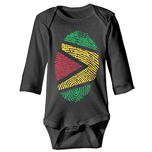 Baby Infant Toddler Long Sleeve Climb Jumpsuit Guyana Flag Ideas Only On Pinterest Print Jumpsuit Onesie Black]()