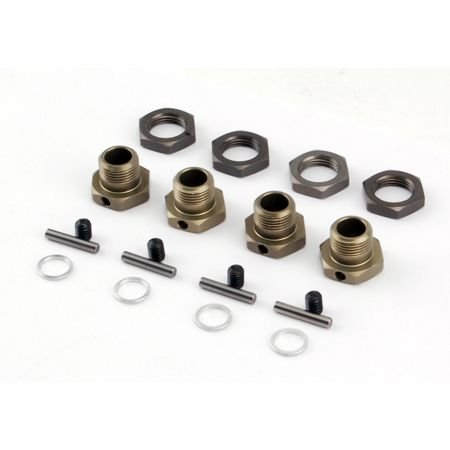 Losi 17mm Hex Adapter Set (4): LST2, LST 3XL, LOSB3516