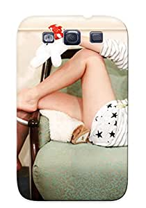 Exultantor Perfect Tpu Case For Galaxy S3/ Anti-scratch Protector Case (legs Women Girls Generation Snsd Glasses Celebrity Asians Kim Taeyeon )