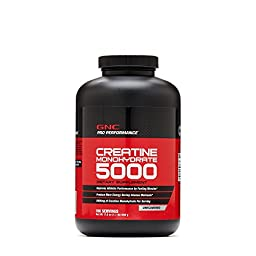 GNC Pro Performance Creatine Monohydrate Unflavored 100 Servings