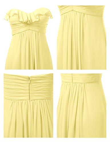 Bridesmaid Prom Party Yellow Gown Long Maxi Dress Alicepub Sweetheart Evening Bridal Dress qaYnfRZ