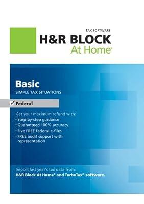 H&R Block At Home Basic 2012