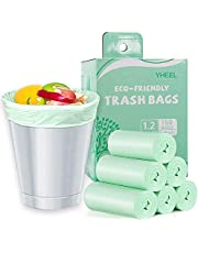 Small Trash Bag,Biodegradable Recycling Garbage Bags for Kitchen Bathroom Office Waste Bag