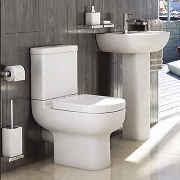 Studio stylischer Moderne Badezimmer Suite inklusive weiß Keramik ...