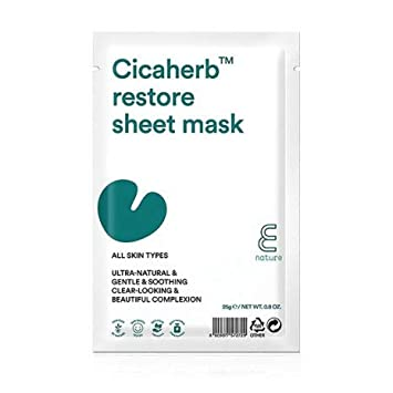 Mascarilla Calmante - Cicaherb Restore Sheet Mask - E Nature