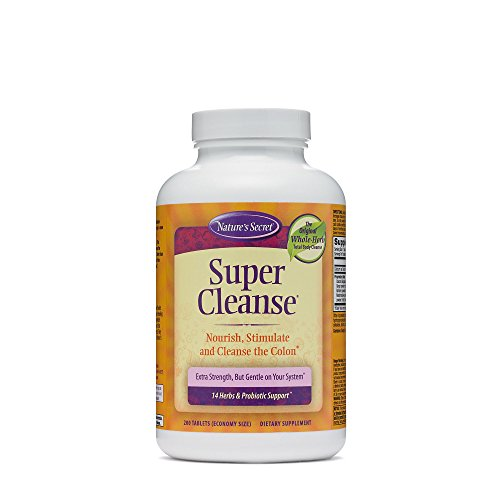 (Nature's Secret Super Cleanse Herbal and Probiotic Support, 200 Tablets (1)