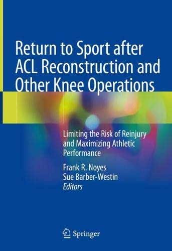 Return to Sport after ACL Reconstruction and Other Knee Operations: Limiting the Risk of Reinjury and Maximizing Athletic Performance