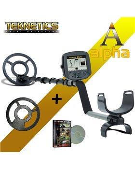 Teknetics Alpha 2000Detector de metales + protector ...