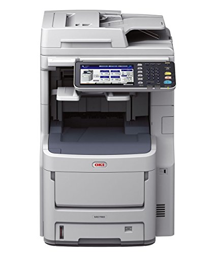 Oki Data MC780 Workgroup Color MFP Print,Copy, Scan, Fax RADF Duplex, Network, (42/42ppm) 120V (E/F/P/S) by Oki Data
