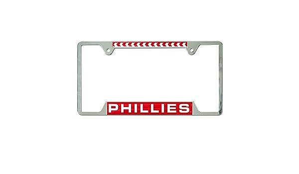WinCraft NCAA Virginia Tech Hokies Inlaid Metal License Plate Frame 2-Tag Corners