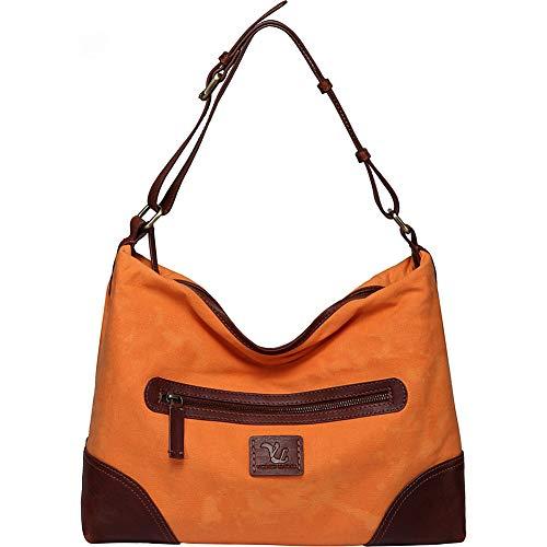 Vicenzo Leather Chiara Shoulder Bag (Brown)