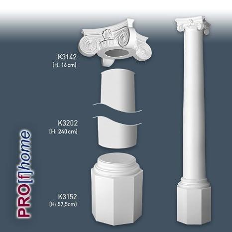 Orac Decor LUXXUS KI10 columnas-juego de adornos: Amazon.es: Bricolaje y herramientas