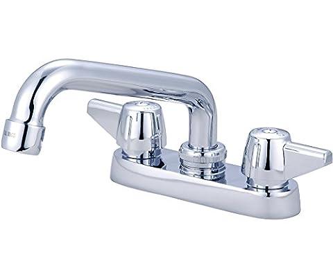Central Brass 0084-A 2-Handle Cast Brass Bar/Laundry Faucet - Central Brass Compression Faucet Stem