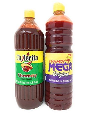 Chamoy Sauce Bundle (Chilerito and Mega Chamoy)