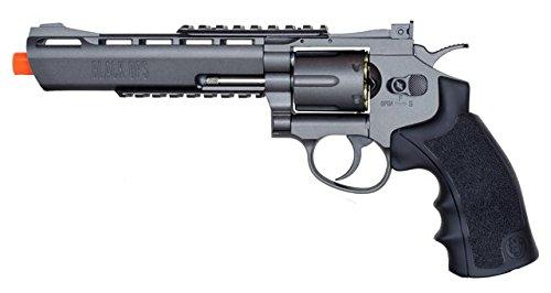 black ops exterminator full metal air revolver, 6 gun metal bb(Airsoft Gun)