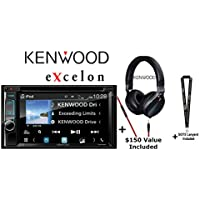 Kenwood eXcelon DDX595 6.2 DVD Receiver and Kenwood KH-KR900 On Ear Phones and a SOTS Lanyard
