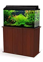 Showcase your aquarium atop the durable Aquatic Fundamentals 50-65 gallon Upright Aquarium Stand. This quality fish tank stand is ideal for supporting rectangular 50-65 gallon tanks. The finish and contemporary design are sure to suit any sty...